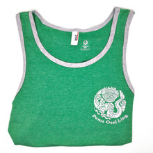 POL Dragon Logo Tank Top - Green