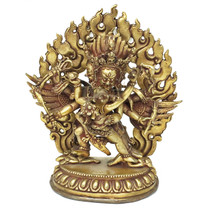 Red Hayagriva Statue 4.75""