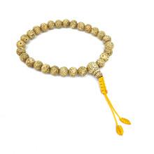 Lotus Seed Wrist Mala 27 Beads 8mm