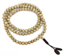 Light Lotus Seed Mala 8mm