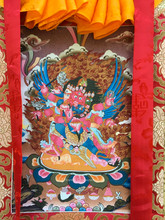 "Red Hayagriva Thangka - 31"" x 21"""