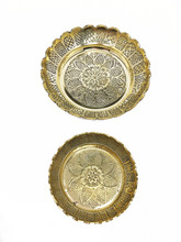 Etched Brass Plate Set