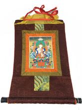 Mini Vajrasattva Print Thangka