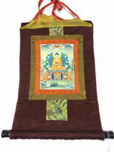 Mini Shakyamuni Print Thangka