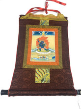 Mini Vajrapani Print Thangka