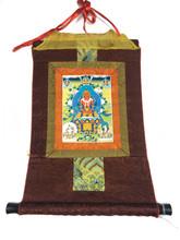 Mini Amitayus Print Thangka