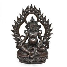 """Dzambhala Statue, metal 8"""""""