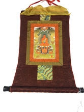 Mini Amitabha Print Thangka