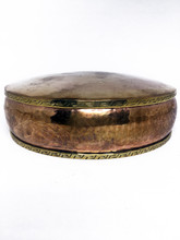 Mandala Pan, Copper Divoted and Engraved