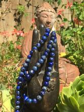 Lapis Lazuli Mala, 8mm