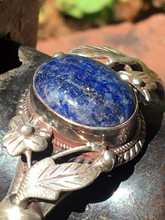 Sterling Lapis Lazuli Bracelet