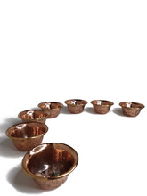 """Offering Bowls, Copper 3.25"""""""