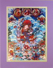 Print of Tenma Sisters Thangka by Kumar Lama