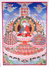 Glicee Print of Dudjom Tersar Refuge Tree Thangka by Kumar Lama