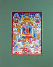 Print of Amitabha Thangka by Kumar Lama