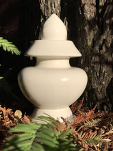 Pure White Treasure Vase