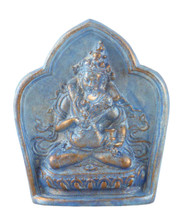 Light Blue and Gold Vajrasattva Tsa Tsa