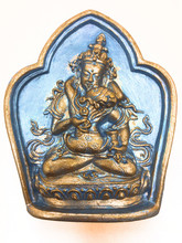 Blue Silver and Golden Vajrasattva Tsa Tsa