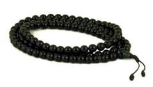 Black onyx mala with 108, size 8mm beads.