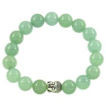 Aventurine Bracelet with Buddha