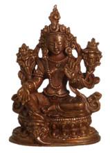 "Green Tara Statue 2.5"""