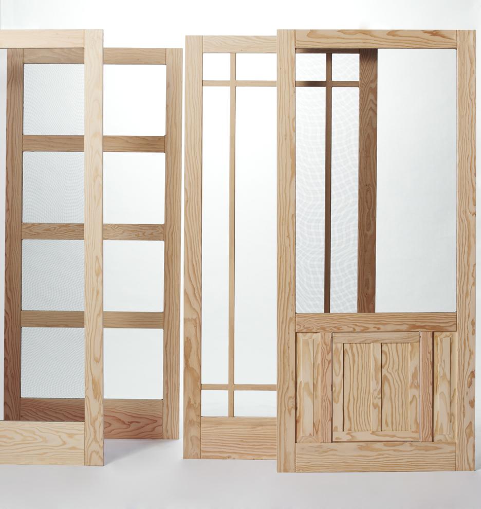 Installing A Wood Screen Door The Original Woodshop Network