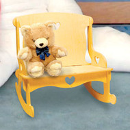 Doll Rocker Loveseat