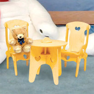 Doll Table & Chairs - FREE SHIPPING