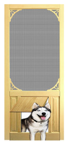 PET SAFE - SOLID WOOD SCREEN DOOR #D807