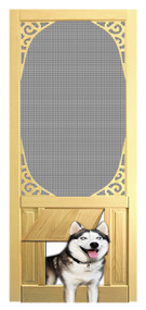 PET WOOD SCREEN DOOR #D808