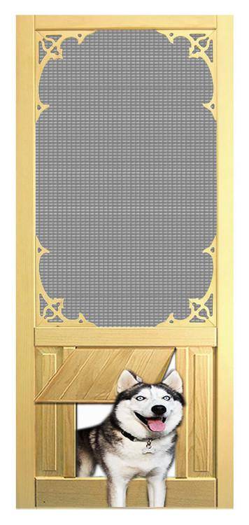 Pet Safe Solid Wood Screen Door D809 The Original