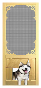 PET WOOD SCREEN DOOR #D809