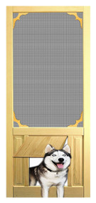 PET SAFE - SOLID WOOD SCREEN DOOR #D810