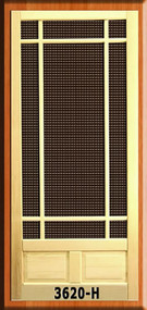 Craftsman Screen Doors #3620-H