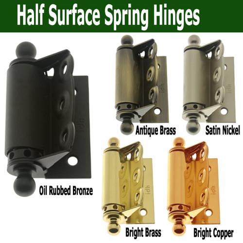 Delightful ... Screen Door Half Surface Spring Hinge. Image 1