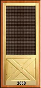 VINTAGE SCREEN DOORS #3660