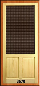 VINTAGE SCREEN DOORS #3670