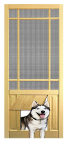 PET SAFE - SOLID WOOD SCREEN DOOR #D826