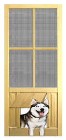 PET SAFE - SOLID WOOD SCREEN DOOR #D827