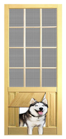 PET SAFE - SOLID WOOD SCREEN DOOR #D829