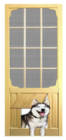 PET SAFE - SOLID WOOD SCREEN DOOR #D830