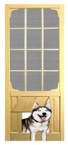 PET WOOD SCREEN DOOR #D830