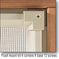 Plinth Flush Mount Kit