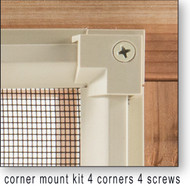 Corner Plinth Kit (5 pc Min Order)