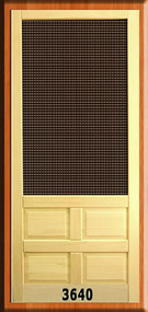 SCREEN DOOR #3640