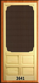 SCREEN DOOR #3641-D