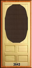 SCREEN DOOR #3643