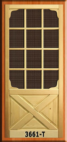 SCREEN DOOR #3661-T