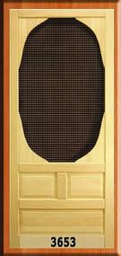 VINTAGE SCREEN DOORS #3653