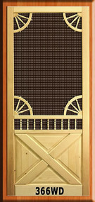 VINTAGE SCREEN DOORS #366WD